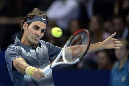 Federer Pospisil Basel Match Recap