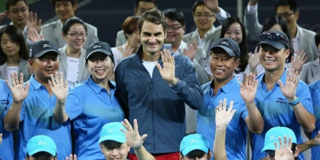 Federer Shanghai Draw 2013