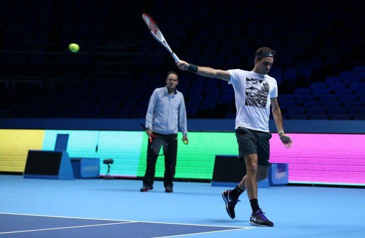 Federer Splits with Annacone