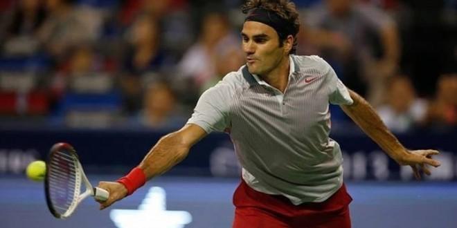Federer def Seppi in Shanghai