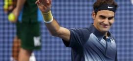 Federer defeats Pospisil Basel 2013