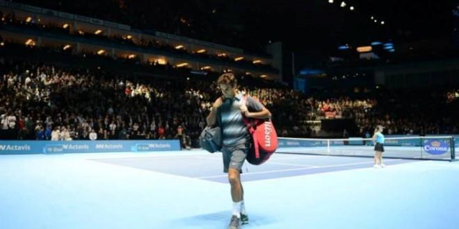 Djokovic Defeats Federer Round Robin 2013