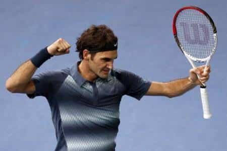 Federer Come on Del Potro 2013