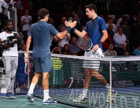 Federer Del Po Bercy 2013