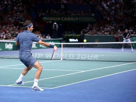 Federer Djoker Paris Masters 2013