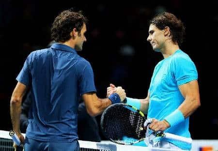 Federer Nadal London 2013