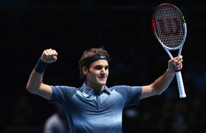 Federer defeats Del Potro World Tour Finals