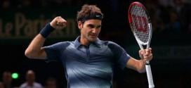 Federer defeats Del Potro at Paris Masters 2013