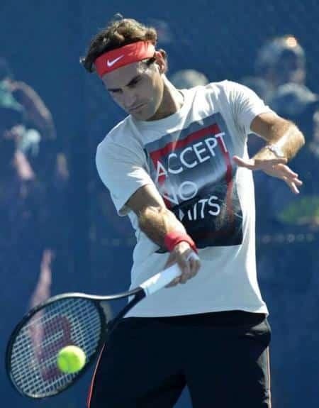Federer Pat Rafter Arena