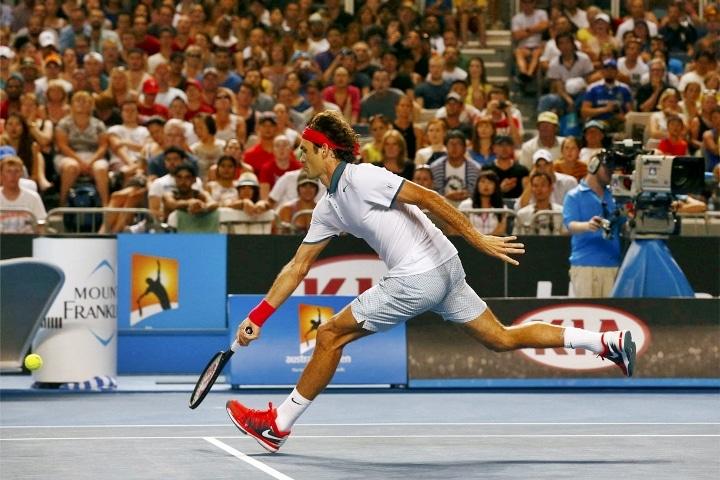 Federer defeat Kavcic
