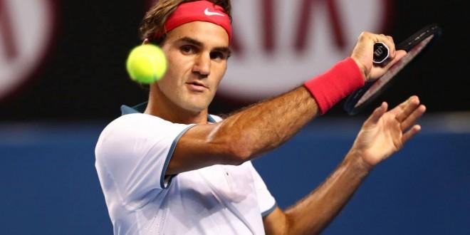Federer defeats Gabashvilli Melbourne