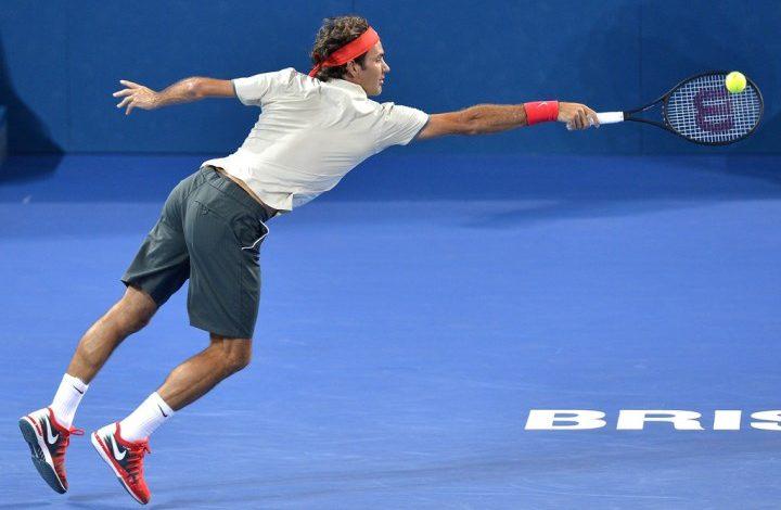 Federer vs. Matosevic Brisbane 2014