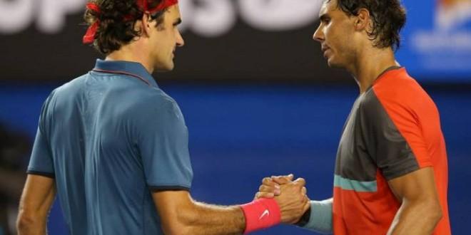 Nadal Routines Federer Australian Open 2014