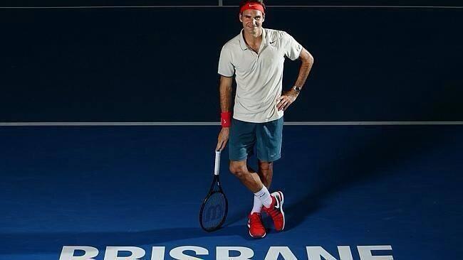 Roger Federer Outfit Australian Open 2014