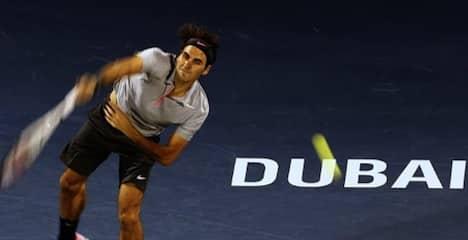 Federer Dubai 2013