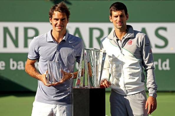 Djokovic Denies Federer Indian Wells 2014