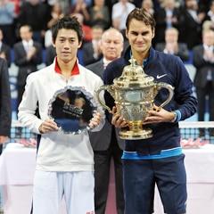 Federer - Nishikori Basel