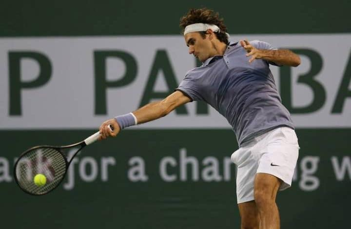 Federer Dolgopolov Indian Wells