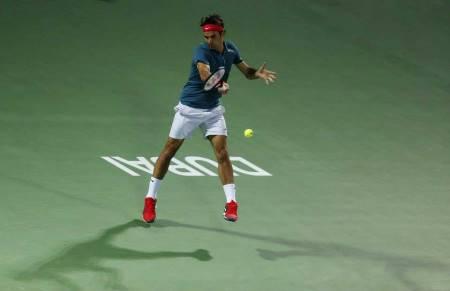 Federer Dubai Final 2014