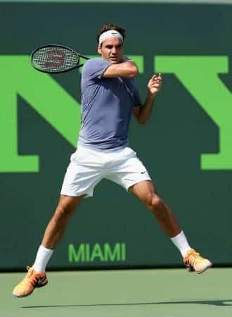 Federer Forehand vs Gasquet