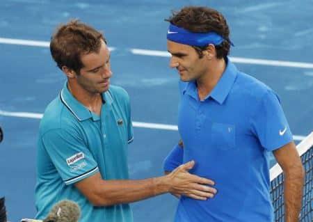 Federer Gasquet Madrid 2012