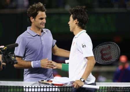 Federer Nishikori Miami 2014