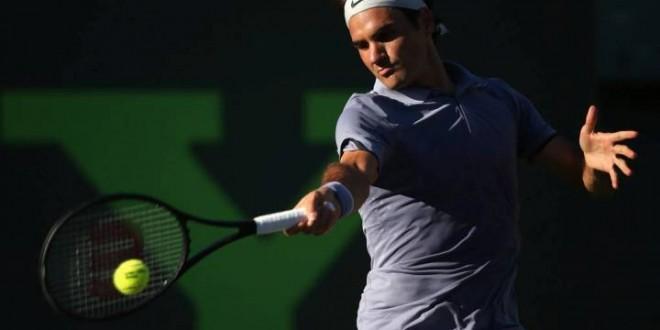 Federer Schools Gasquet