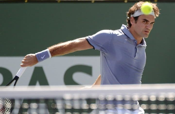 Federer Tursunov Indian Wells
