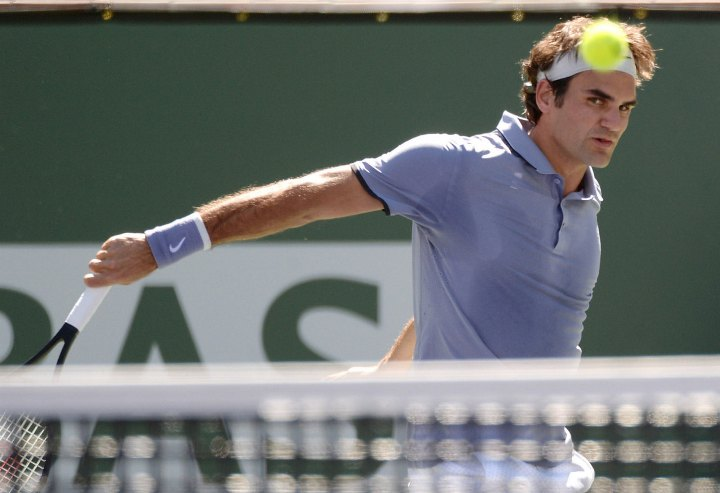 Federer Tursunov Indian Wells