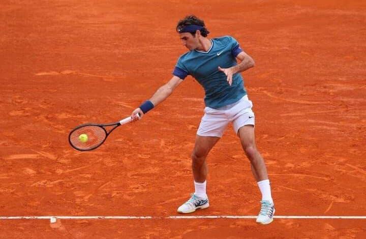 Federer Defeat Stepanek Monte Carlo 2014