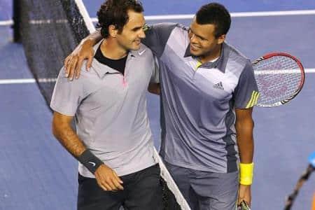 Federer Tsonga AO 2013