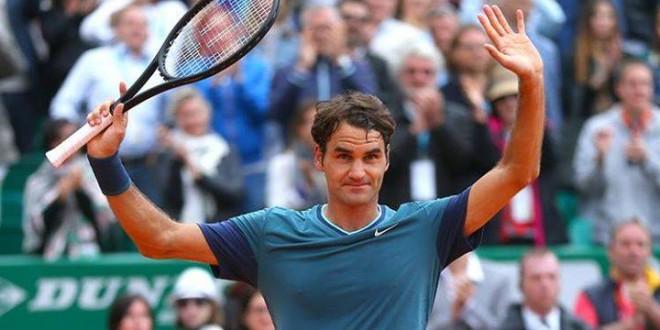 Federer defeat Djokovic Monte Carlo
