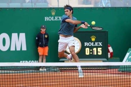 Federer defeat Rosol Monte Carlo