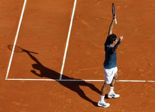 Federer into Monte Carlo Final