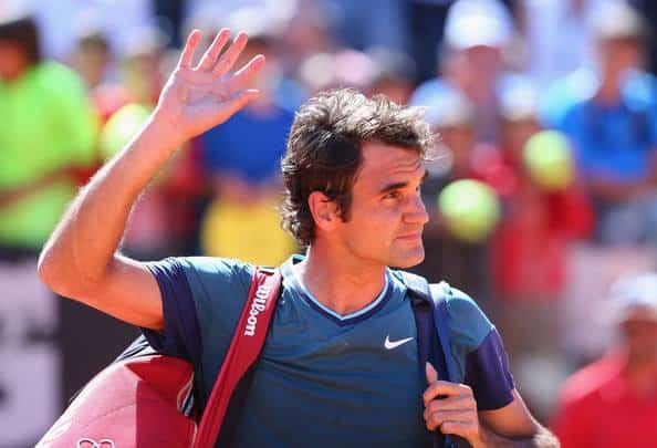Chardy defeats Federer Rome