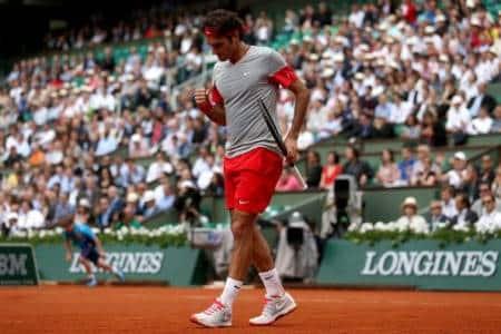 Federer 3rd Round Roland Garros 2014