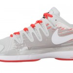Federer Nike Vapor Grey Crimson