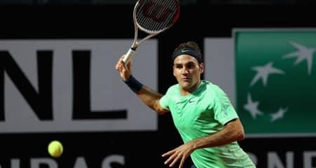 Federer, Rome 2013