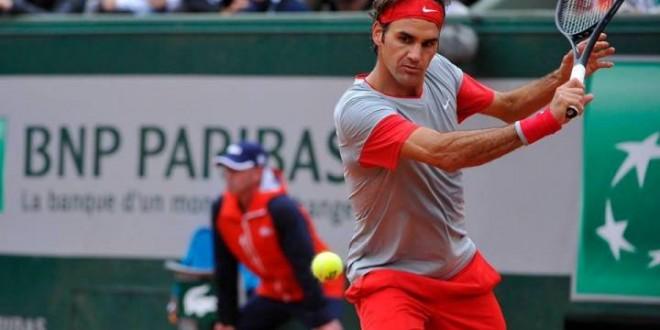 Federer Tursunov Roland Garros 2014