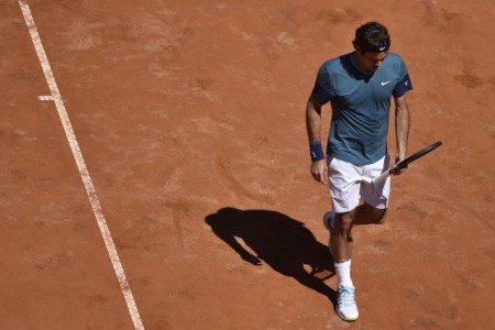 Federer out of Rome 2014