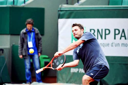 Wawrinka French Open 2014
