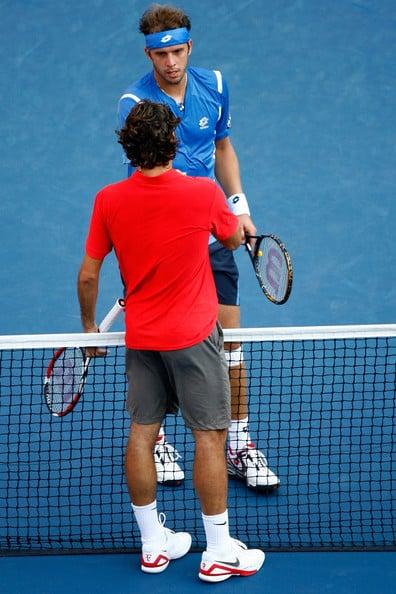 Federer - Gilles Muller