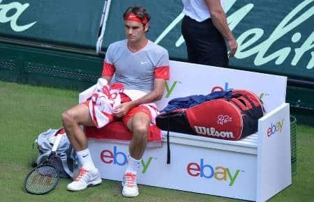 Federer Halle 2014