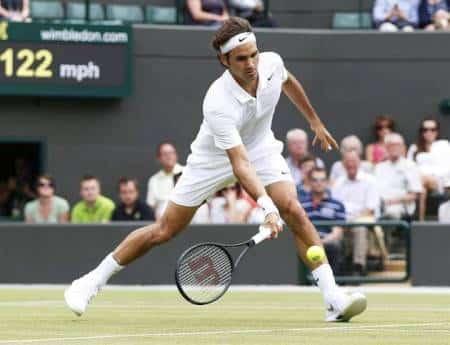 Federer Lorenzi Wimbledon