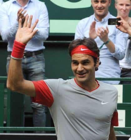 Federer def Nishikori Halle