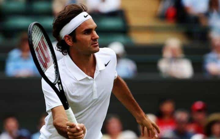 Federer defeat Lorenzi Wimbledon 2014