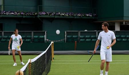 Murray Wimbledon Draw 2014