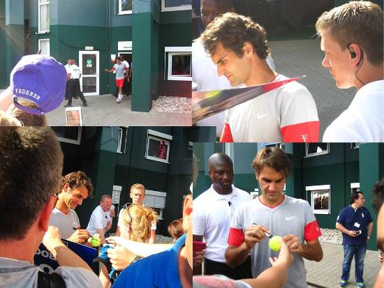 Fed Signing Autographs
