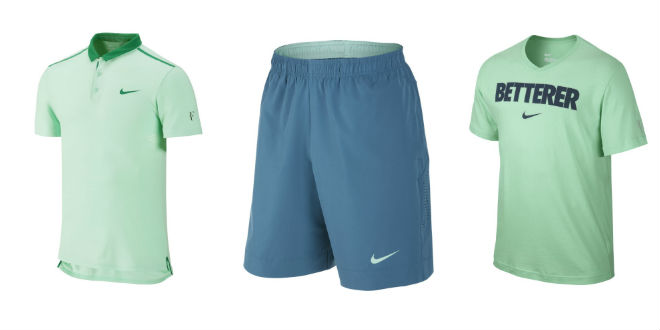 Photo of Roger Federer's Outfit for Cincinnati and the Roger's Cup 2014