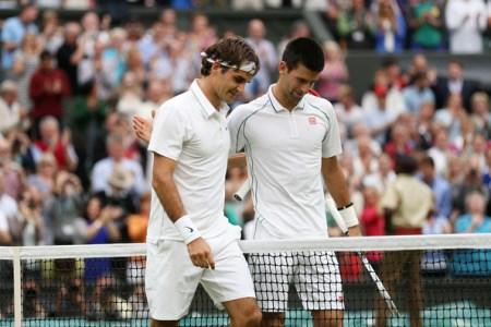 Federer Djokovic Wimbledon 2014